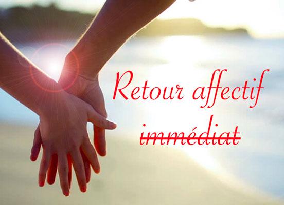 retour affectif immédiat