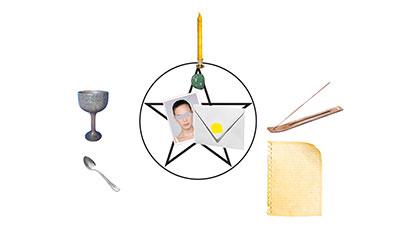 autel pour le rituel des examens