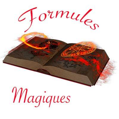 formule magie rouge