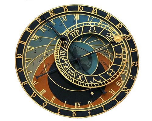 le jour, l'heure et la période