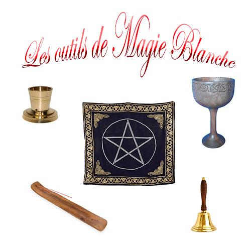 outils pour la magie blanche