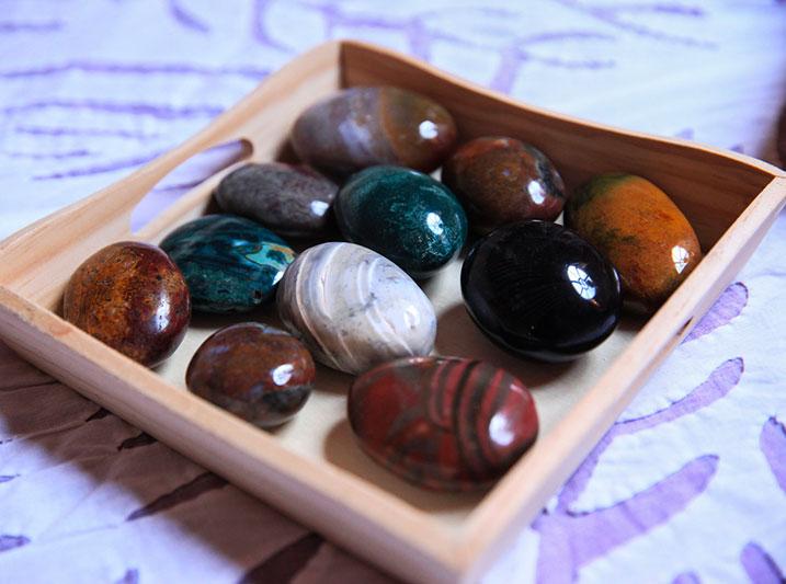 les pierres en lithothérapie